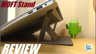"REVIEW: MOFT ""Invisible"" Laptop Stand (Folding Design)"