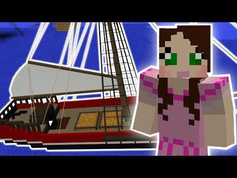 Minecraft: AMAZING SHIP MISSION - Custom Mod Challenge [S8E20]