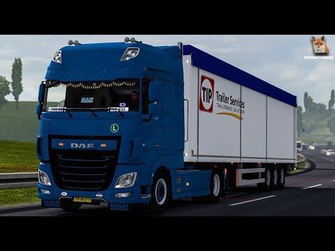 DAF XF Euro 6 Reworked   Euro Truck Simulator 2 (ETS2 1.30 Mod)