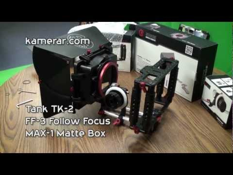 Kamerar DSLR Rig (Tank, FF-3 and MAX-1) Unboxing and Review