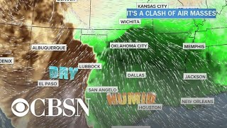 Severe weather threatens millions in central U.S.