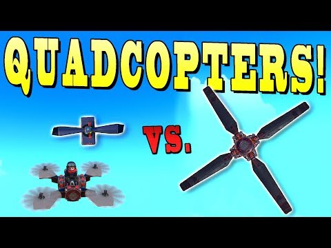 BEST Stunt Quadcopter? Big Props vs Small Props - Trailmakers Early Access Gameplay Ep53