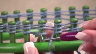 How to make a Beanie Hat with a Round Knifty Knitter Loom