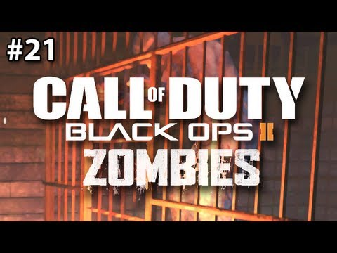 Buried Zombies: JAIL BREAK (Black Ops 2)