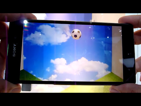 Sony Xperia Z2: New Background defocus & Timeshift Video explained