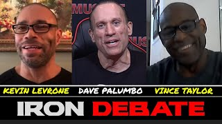 KEVIN LEVRONE vs VINCE TAYLOR: DEBATE BEST TRAINING STYLE FOR BUILDING MUSCLE?