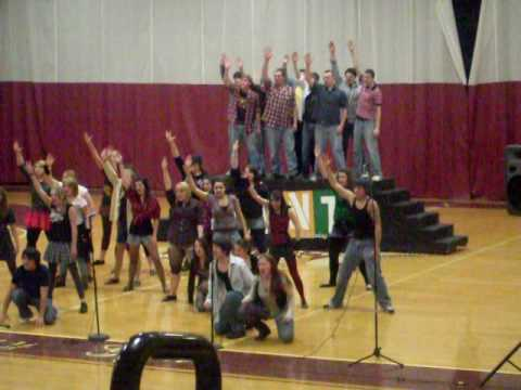 stearns high school show choir preforming rent
