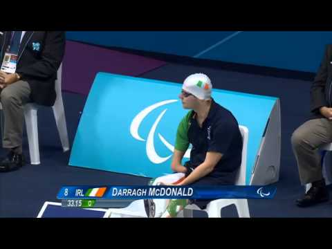 Swimming - Men's 50m Freestyle - S6 Final - London 2012 Paralympic Games