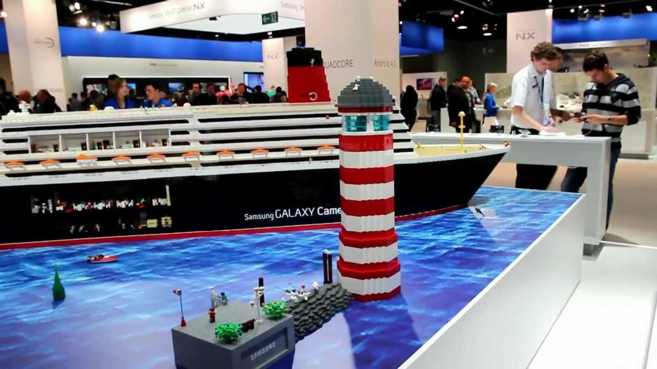 Lego Big Ship Queen Elizabeth Legoschiff K 246 Ln 2012 Youtube