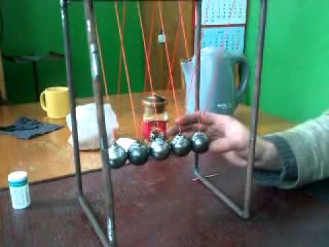Как сделать шарики ньютона своими руками