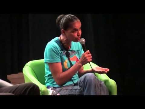 Marina Silva falando sobre o Estado Laico e Religiões