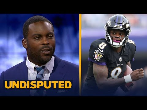 Michael Vick offers advice to Lamar Jackson after his first start with the Ravens | NFL | UNDISPUTED