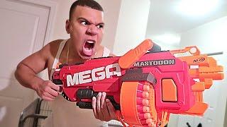 NERF WAR EXTREME GUN TRICK SHOTS!!