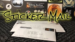 Sticker Mail! Board Is Getting Full!!