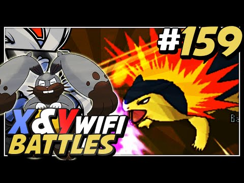 Pokemon X and Y Wifi Battle #159 Live Vs Vikkytor