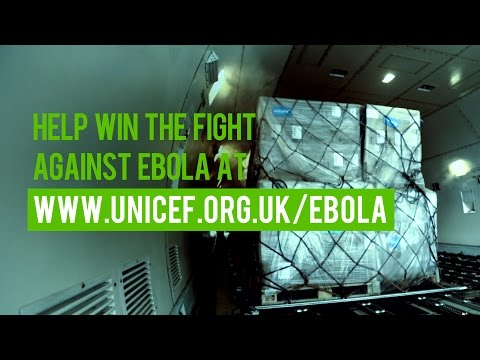 Help UNICEF win the fight against Ebola