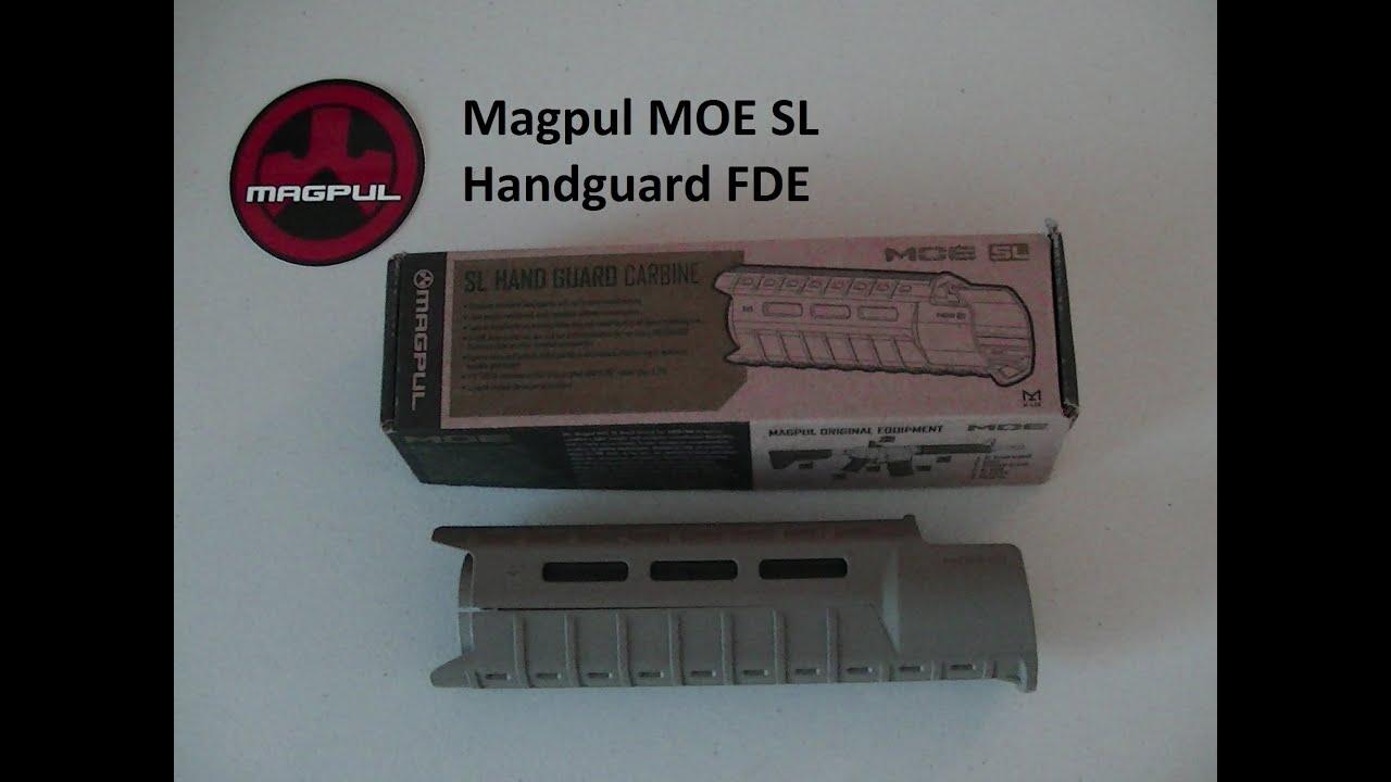 Magpul Fde Magpul Moe sl Handguard Fde