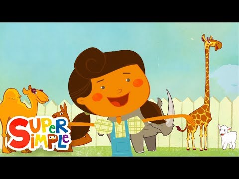 Mary Had A Little Lamb | Animal Song | Super Simple Songs