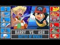 Ash vs. Barry (Pokémon Sun/Moon) - Sinnoh Battle of Rivals