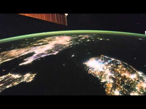 North Korea Looks Strangely Dark From Space In Asia Fly-Over | Video