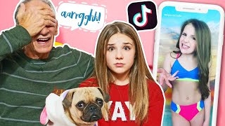 Grandpa REACTS To CRINGE TIK TOKS **8 YEARS OLD** Funny | Piper Rockelle