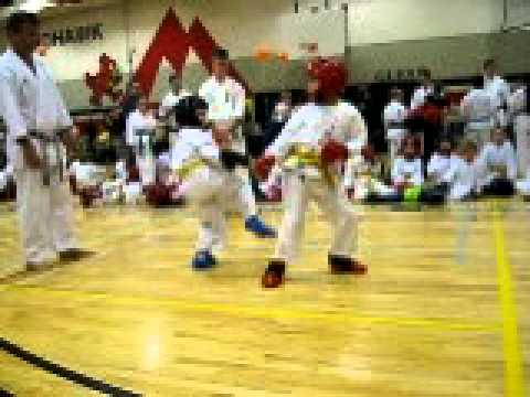 Chito-Ryu Karete-do Canada Nickolas Linares 2 (7 years old) Image 1