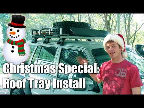 How to Install a Roof Tray & Tyre Restraint