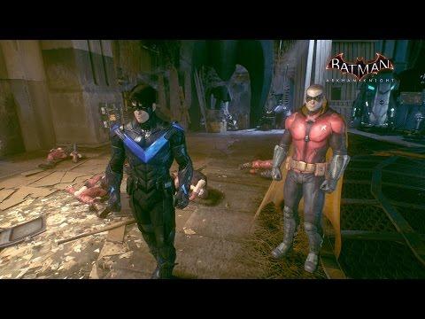 Batman: Arkham Knight  - Nightwing and Robin Team Up