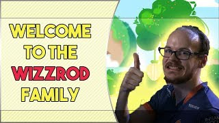 Mew2King welcomes all people to the Wizzrod family || Wizzrobe stream highlights