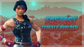 FAST BUILDING || WEIRD GIRL GAMER 880+WINS ||FORTNITE :)