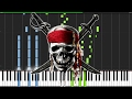 Pirates Of The Caribbean Medley Piano Tutorial Synthesia Nikodem Lorenz mp3
