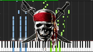 Download Lagu Pirates of the Caribbean Medley [Piano Tutorial] (Synthesia) // Nikodem Lorenz Gratis STAFABAND