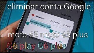 Novo método desbloqueio conta Google moto G6 plus quando não aparece o vídeo do YouTube sem pc