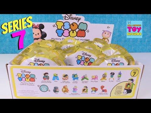 Disney Tsum Tsum Series 7 Mystery Pack Full Box Opening