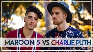 Download Lagu Maroon 5 VS Charlie Puth MASHUP!! ft. Fly By Midnight Gratis STAFABAND