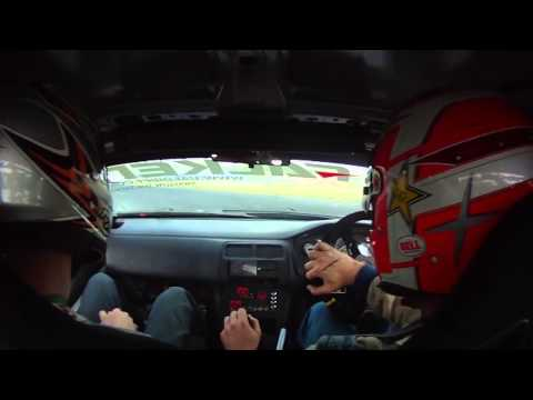 Lennard Wander - Pure noise - Mallory Park - Onboard S14A RB25