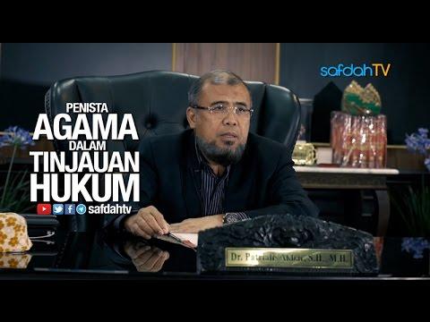 Konferensi Pers: Penista Agama Dalam Tinjauan Hukum - Bpk. Dr. Patrialis Akbar, S.H, M.H