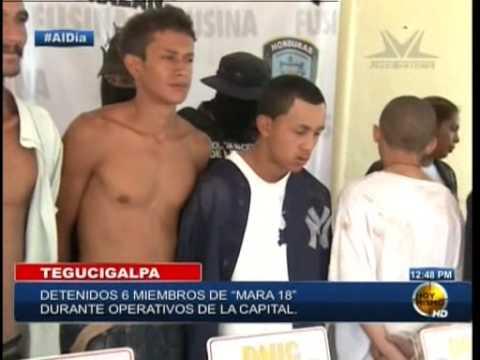 TVC Hoy Mismo- Capturan presuntos pandilleros de la 18 en Tegucigalpa y SPS