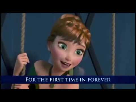 For The First Time In Forever - FROZEN - singalong