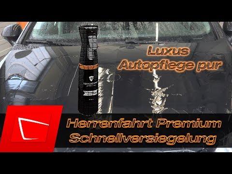 Herrenfahrt Schnellversiegelung Premium Autopflege Test PolishAngel Detailer + Swissvax LOTOS Speed