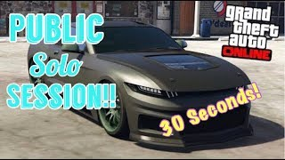 How To Get Your Own Solo Public Lobby on GTA 5 in 30 Seconds!