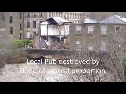 Floods of biblical proportion England under water