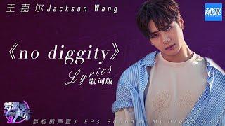 [ 歌词版/Lyrics ] Jackson Wang王嘉尔《no diggity》《梦想的声音3》/浙江卫视官方音乐HD/