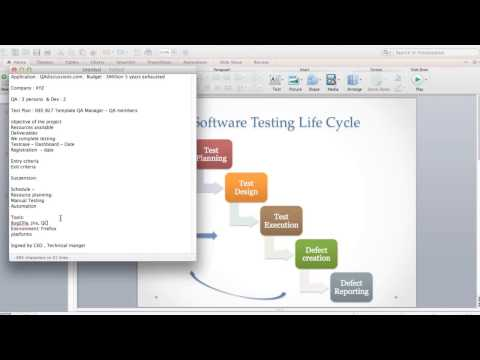 QA Manual Testing Training - Software TestingLife Cycle , Creating Test cases , levels of Testing