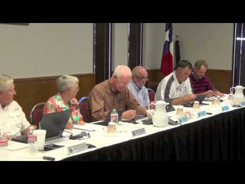 10-9-14 Weatherford College Board of Trustees Meeting