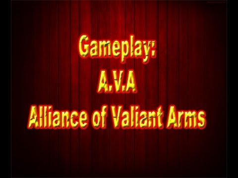 Gameplay:  A.V.A  Alliance of Valiant Arms [PTBR]