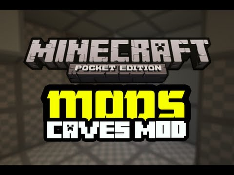 Caves Mod | Minecraft:PE | Spotlight / Tutorial