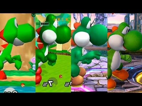 Super Smash Bros Wii U | Yoshi Evolution