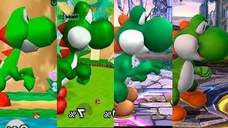 Super Smash Bros Wii U | Yoshi Evolution