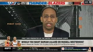 ESPN FIRST TAKE | Would you want Damian Lillard or Russell Westbrook?